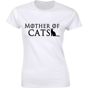 Ladies Mother Of Cats Pet Dragons Animal TV Funny